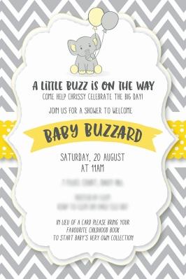Invite designed by Paula Morphew, PokéLogo https://www.etsy.com/au/shop/PokeLogo