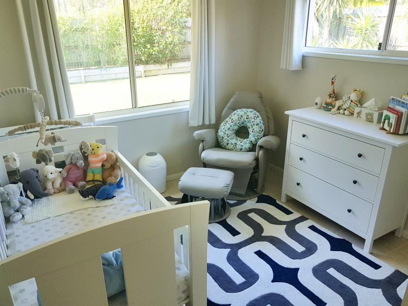 Baby Buzz's nursery