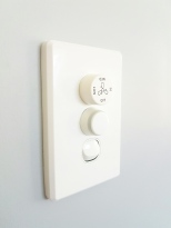 Dimmer switch in nursery