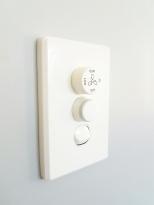 Dimmer switch in nursery
